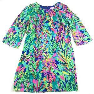 Lilly Pulitzer Carol Shift Dress Sz 6 Hot Spot